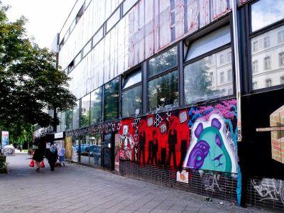 Tipičan prizor oslikanih zgrada
