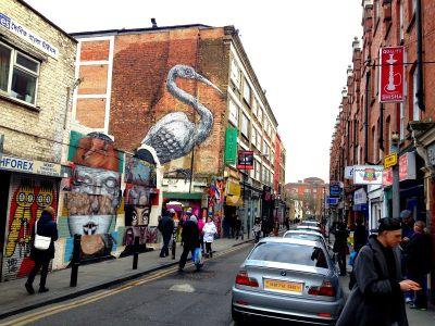 Brick Lane je poznat po uličnoj umjetnosti