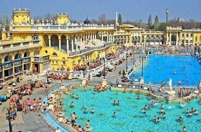 Szechenyi su najveće terme s ljekovitom vodom u Europi
