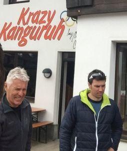 Gunnar Munthe i Mario Matt: Bivši i sadašnji vlasnici Krazy Kanguruha