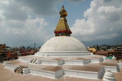 Budistički hram koji je pretrpio samo manja oštećenja