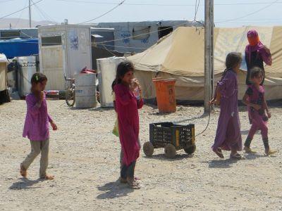 Prognani Jezidi u UNHCR-ovom kampu